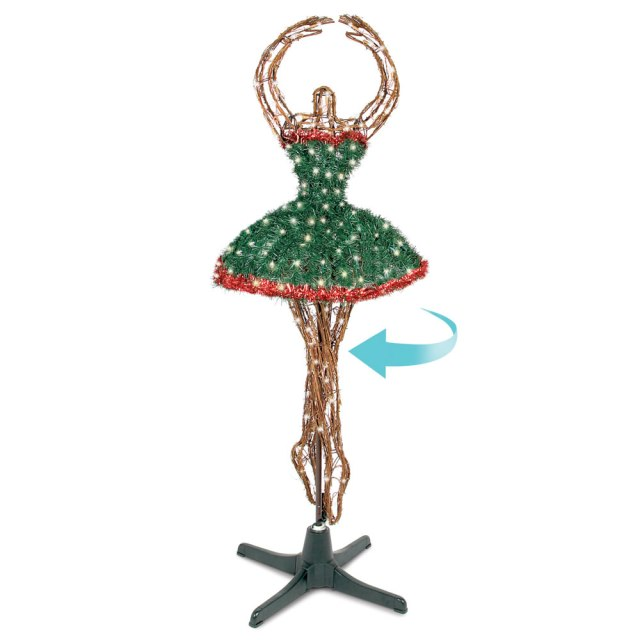 ballerina christmas tree